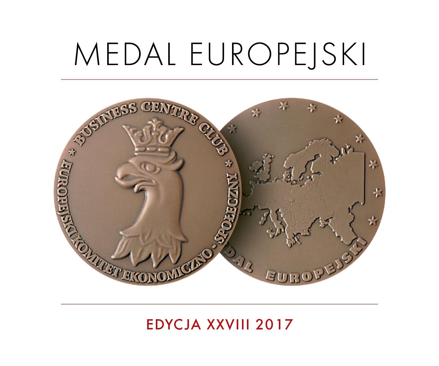 07.06.2017 MEDAL EUROPEJSKI dla solvadis polska sp. z o.o.